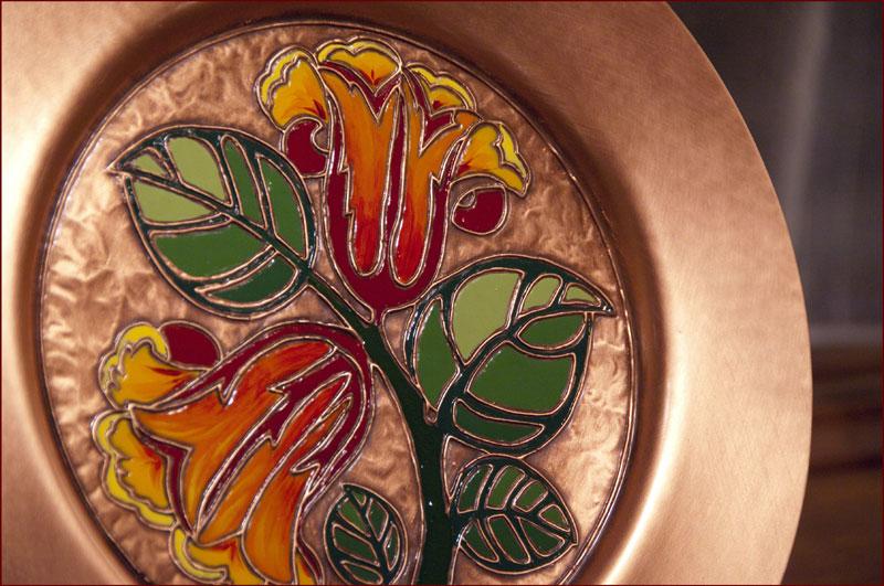 assiette-tulipes