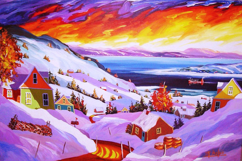 yvon-st-aubin_40x60_l-hiver-charlevoisien
