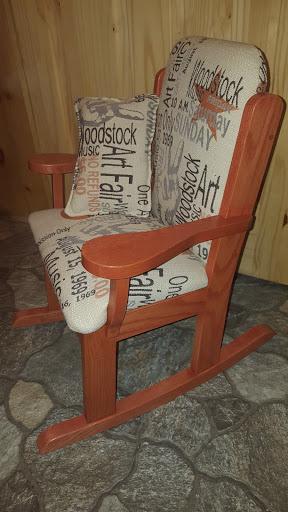 Chaise berçante pour enfant  150,00$