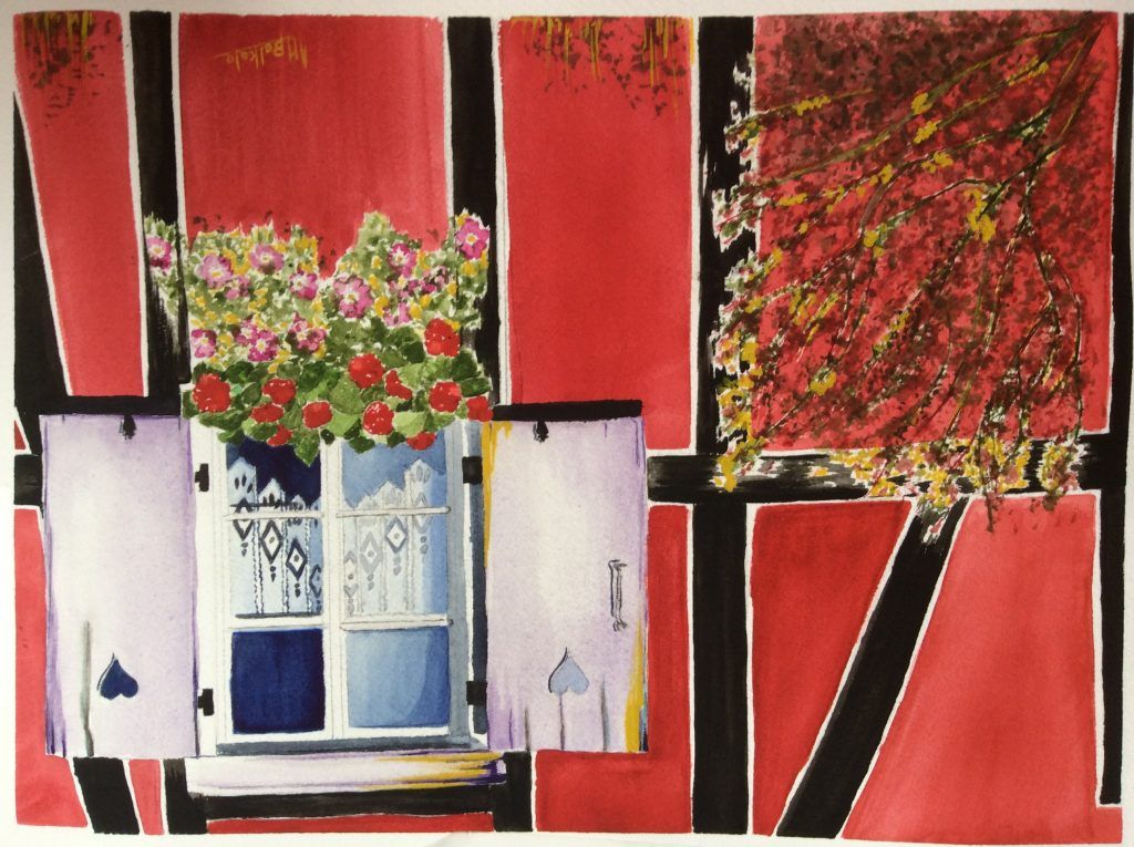 Fenêtre sur la Vie, Anne-Marie Belkala