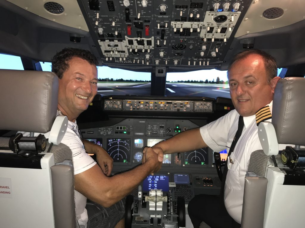 Simulateur de vol, Aventure Sim Ste-Anne