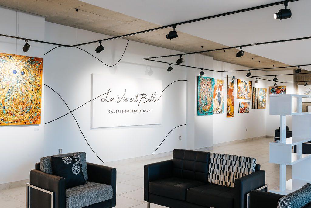 Galerie Boutique d'art La Vie est Belle