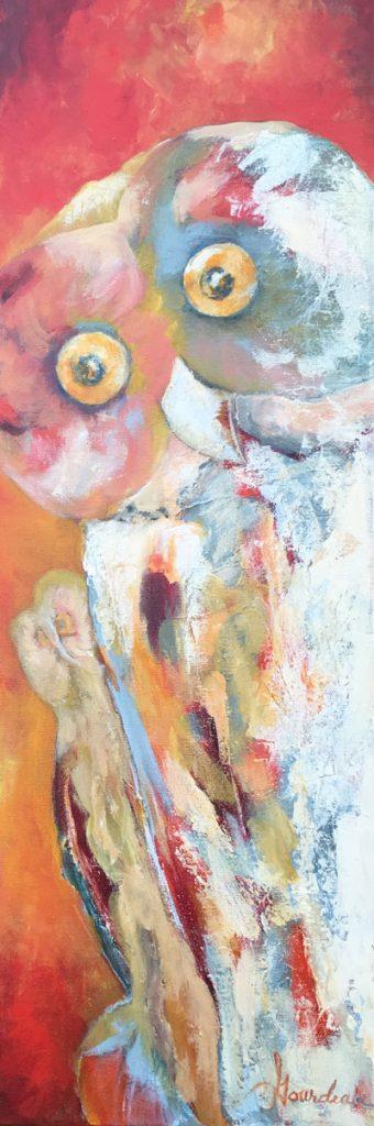 LE CAPTEUR, Acrylique, 8x24